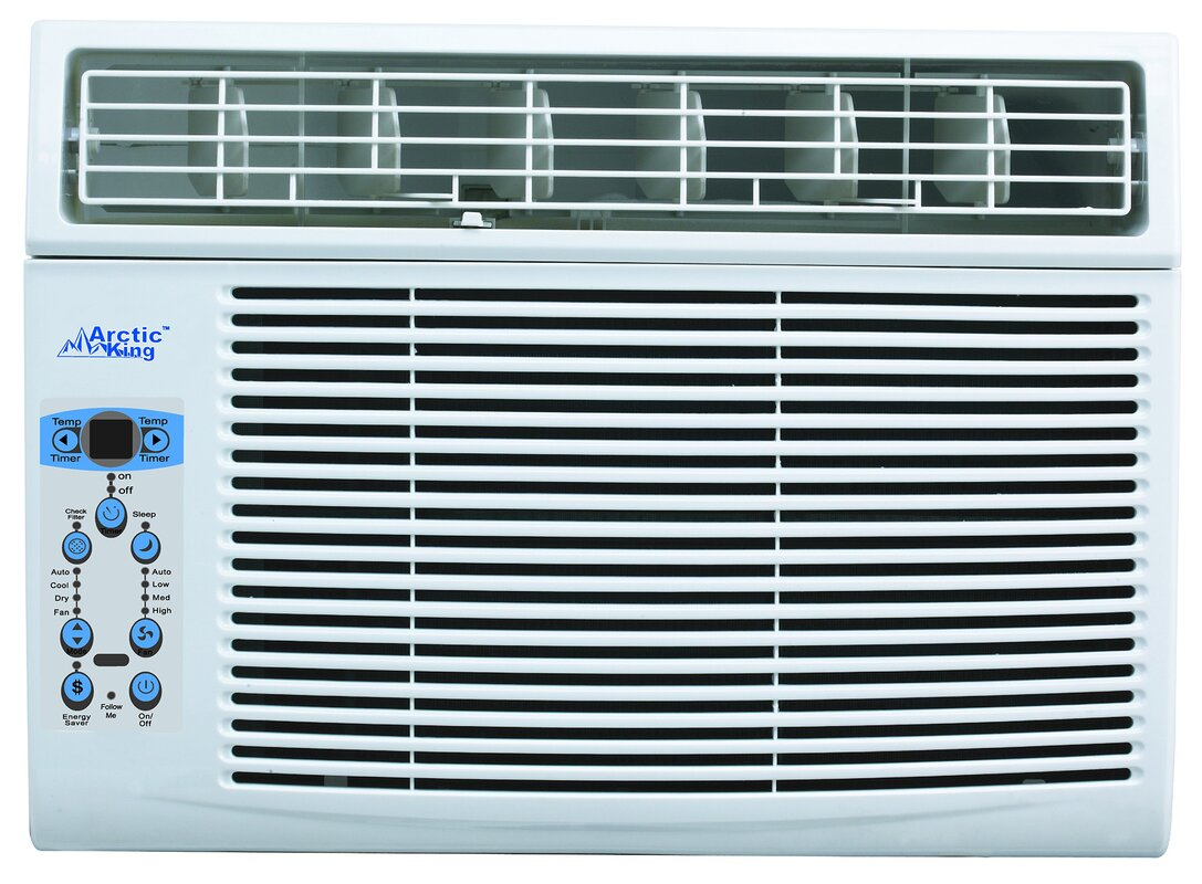 Arctic king 12 000 btu window air conditioner with remote for 12000 btu window air conditioner room size