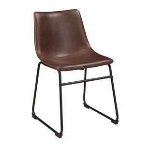 brown dining chairs. Lanford Upholstered Dining Chair (Set Of 2) Brown Chairs A