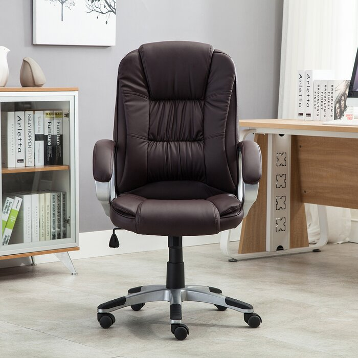 Leather Office Chairs Youll Love Wayfair