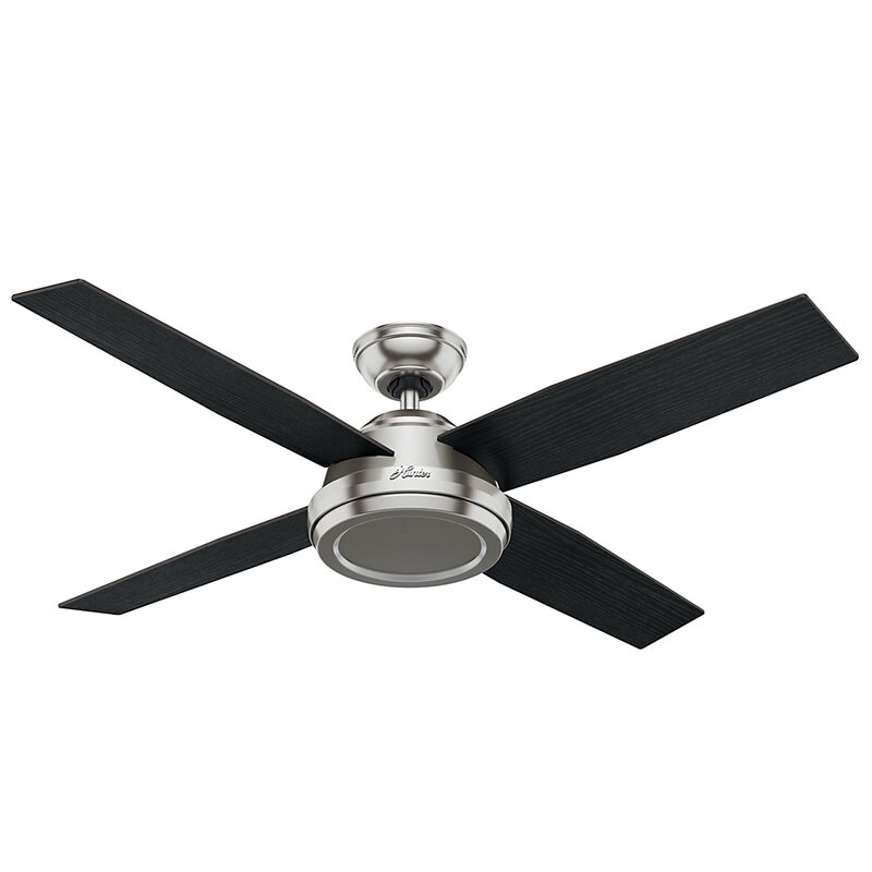 Hunter fan 52 dempsey 4 blade ceiling fan with remote reviews 52 dempsey 4 blade ceiling fan with remote mozeypictures Image collections