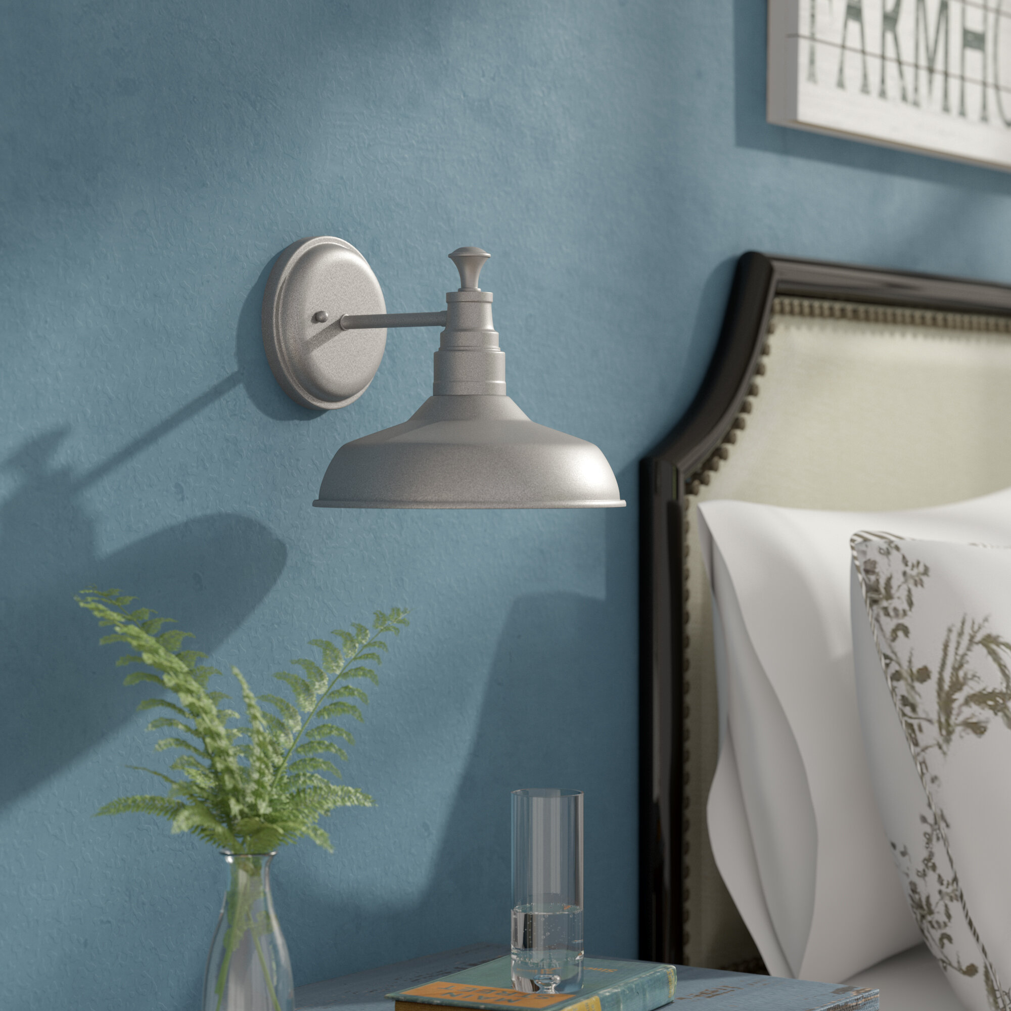Laurel Foundry Modern Farmhouse Stephine 1 Light Bathroom Wall Sconce U0026  Reviews   Wayfair