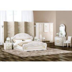 5-tlg. Schlafzimmer-Set Lara, 180 x 200 cm von I..
