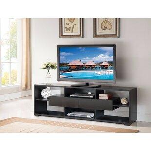 Dudek Elegant 70.75u0027u0027 TV Stand With Shelves And Drawers