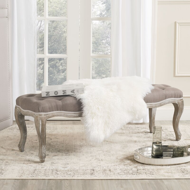 Gainesville Furniture Warehouse: Safavieh Gainesville Upholstered Bench & Reviews