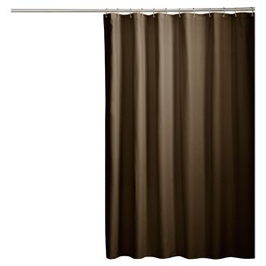 brown and white shower curtain. Rawles Microfiber Fabric Shower Curtain Brown Curtains You ll Love  Wayfair
