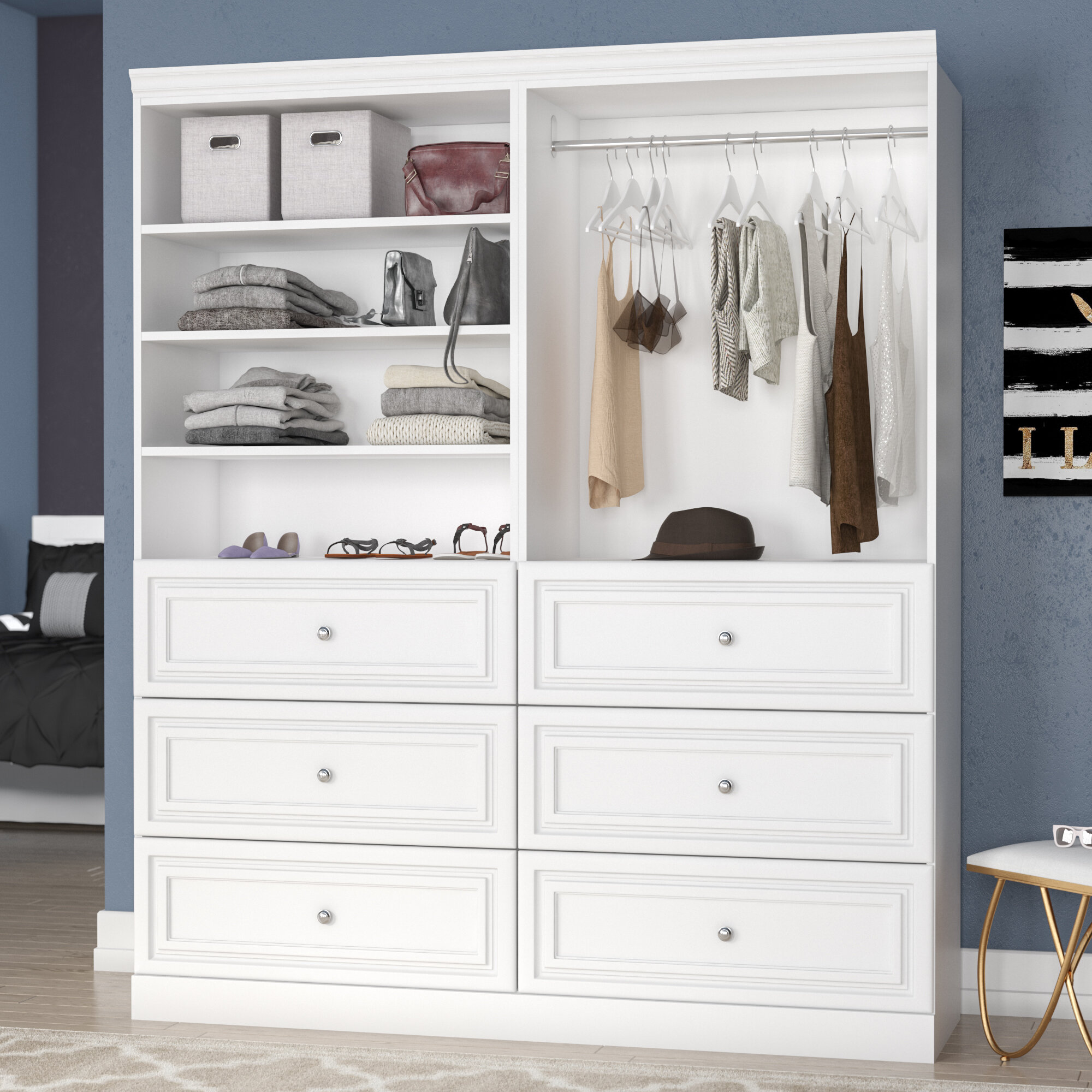 pictures diy a from buero build cabinet closet including wardrobe charming drawers trends doors in