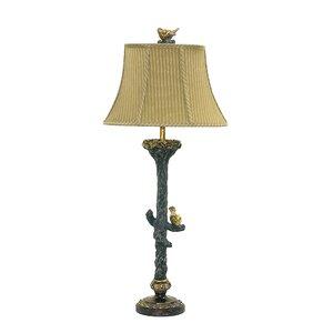 Table lamp birds wayfair bird on branch 34 table lamp aloadofball Image collections