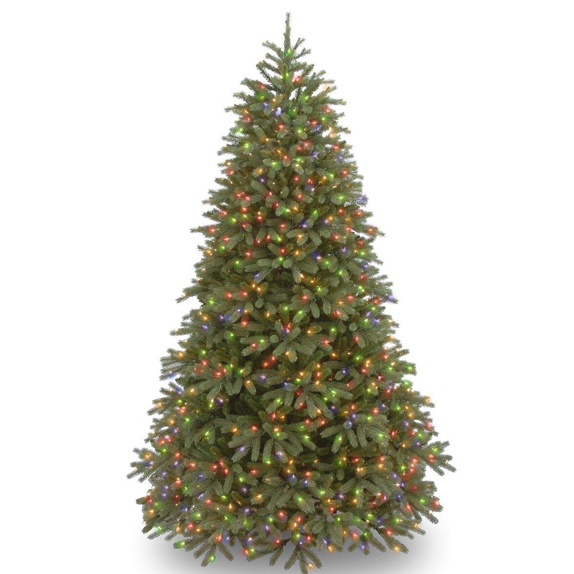 Fraser Fir Christmas Trees: National Tree Co. Jersey Fraser Fir 7.5' Green Artificial