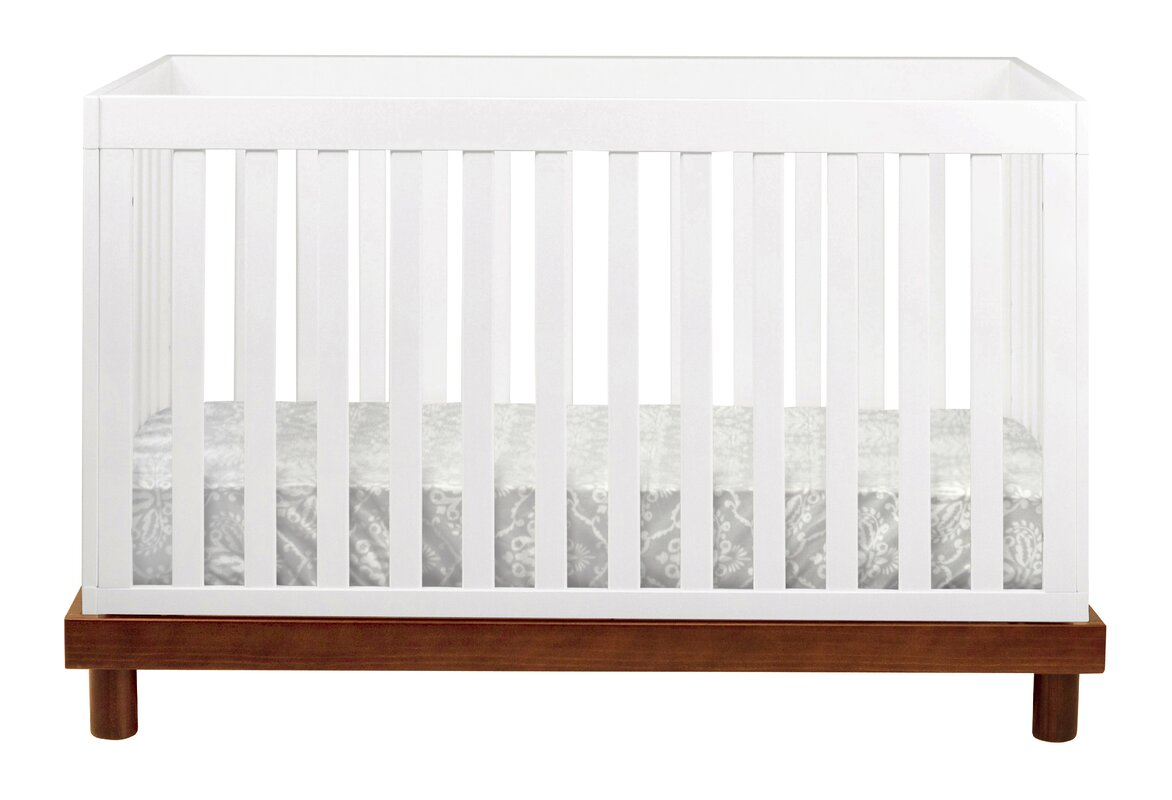 modern  contemporary cribs  allmodern - olivia  in  convertible crib