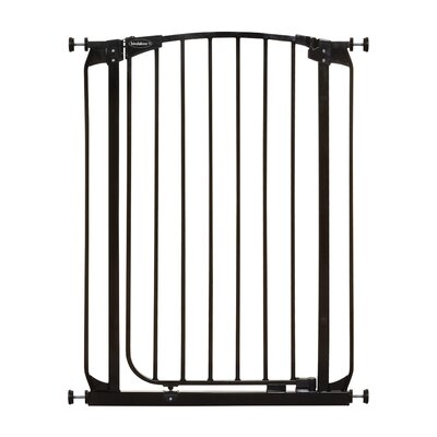 Extra Tall Swing Closed Pet Gate Bindaboo Color: Black
