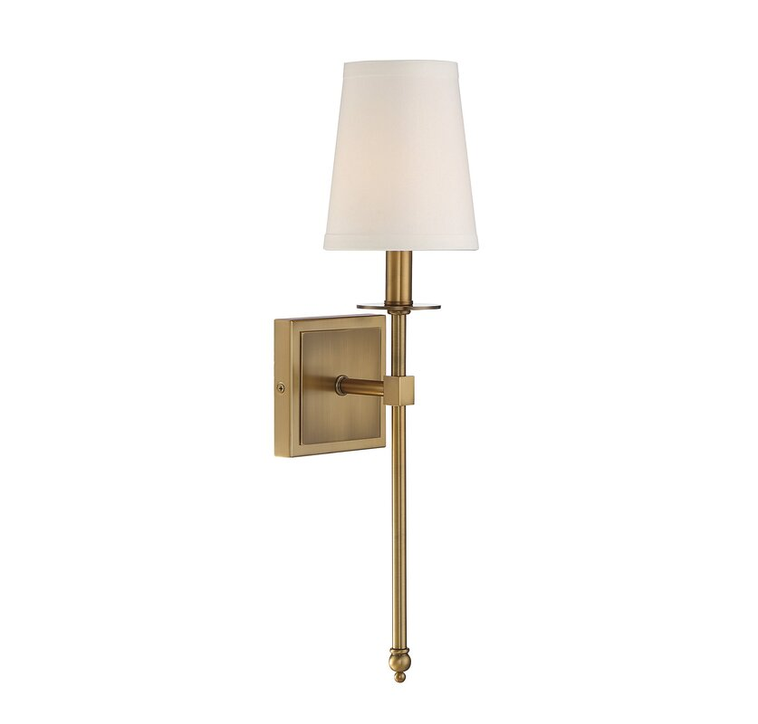 Mid century modern sconces youll love wayfair tyrone 1 light wallchiere greentooth Images