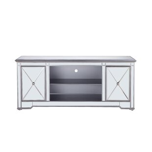 Lilianna Mirrored Tv Stand For Tvs Up To 22