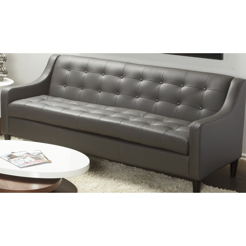 Cameo Leather Sofa