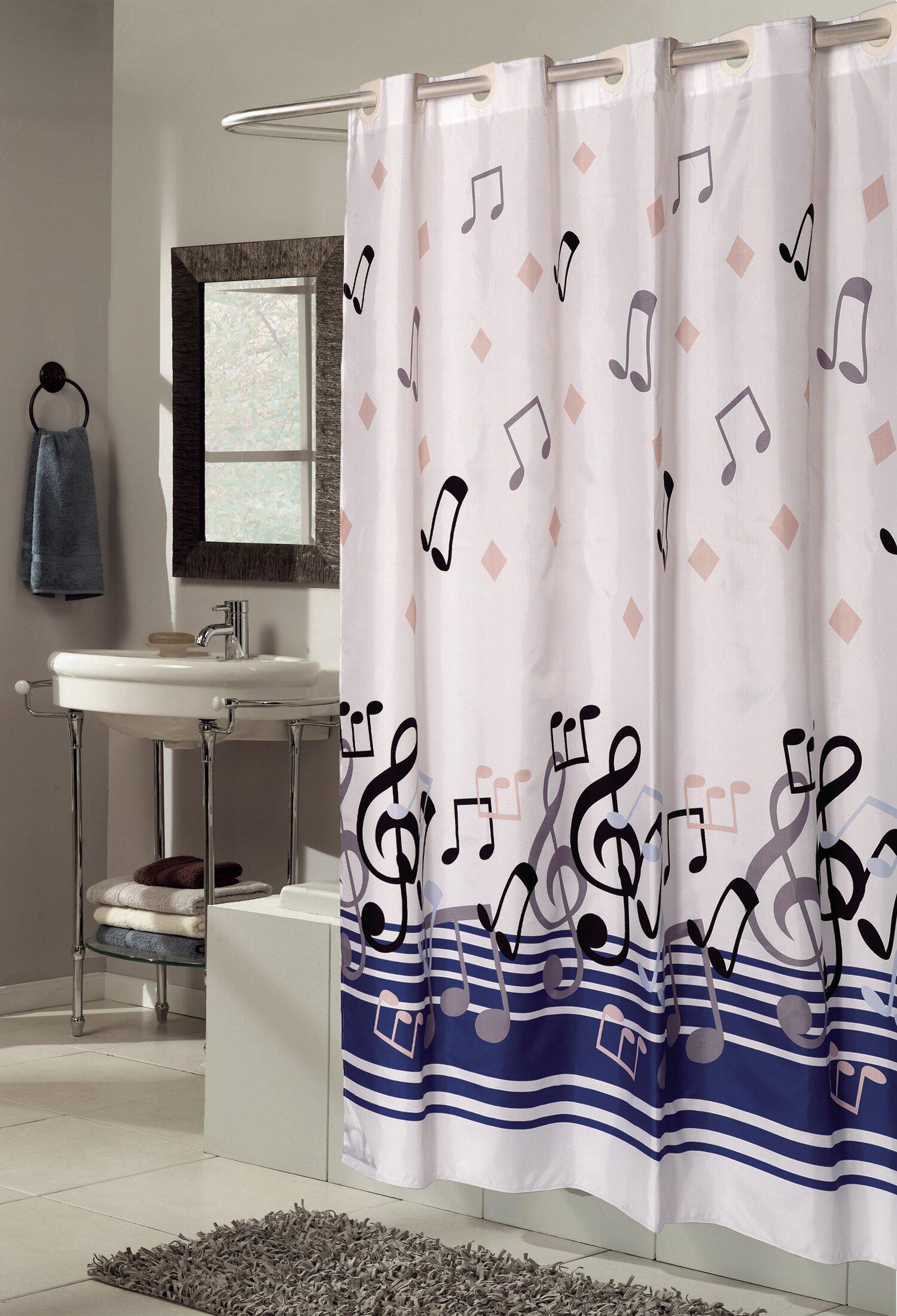 Ben And Jonah EZ ONR Blue Note Shower Curtain