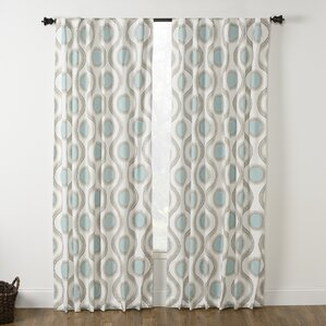 Viola Curtain Panels (Set Of 2)