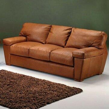 Amazing Omnia Leather Oregon Leather Sofa Wayfair Machost Co Dining Chair Design Ideas Machostcouk