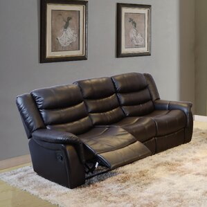 Madison Reclining Sofa by Beverly Fine Furni..