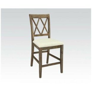 Aileen Counter Height Solid Wood Dining Chair (Set of 2)
