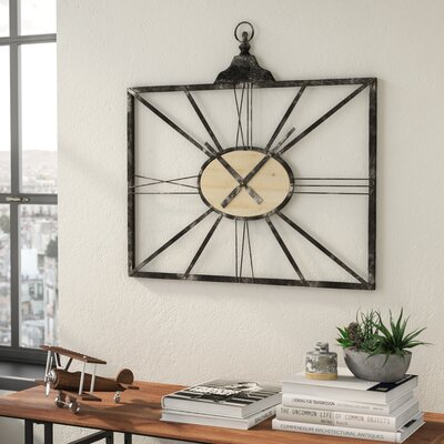 Rectangular Wall Clocks You Ll Love In 2019 Wayfair