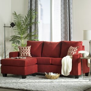 Red Sectional Sofas You\'ll Love | Wayfair