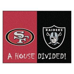 Nfl San Francisco 49ers Oakland Raiders Door Mat