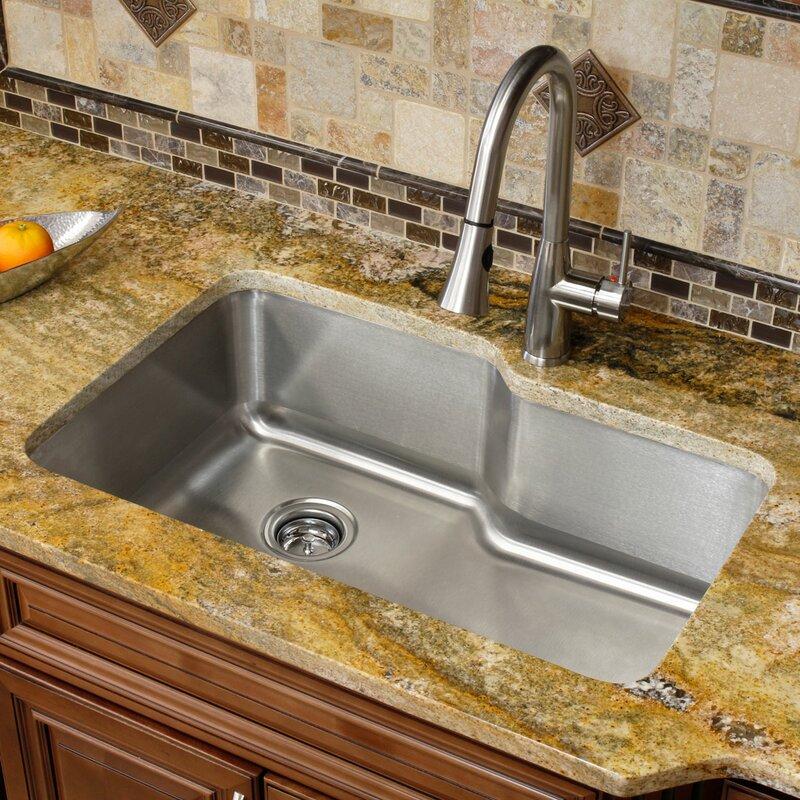 Single Bowl Stainless Steel Sink Undermount Erigiestudio