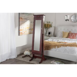 Wall Mirror Jewelry Cabinet find the best jewelry armoires | wayfair