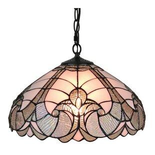 Tiffany pendants youll love wayfair tiffany style 2 light inverted pendant by amora lighting aloadofball Choice Image