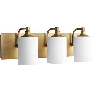 Modern contemporary polished brass vanity light allmodern save aloadofball Image collections