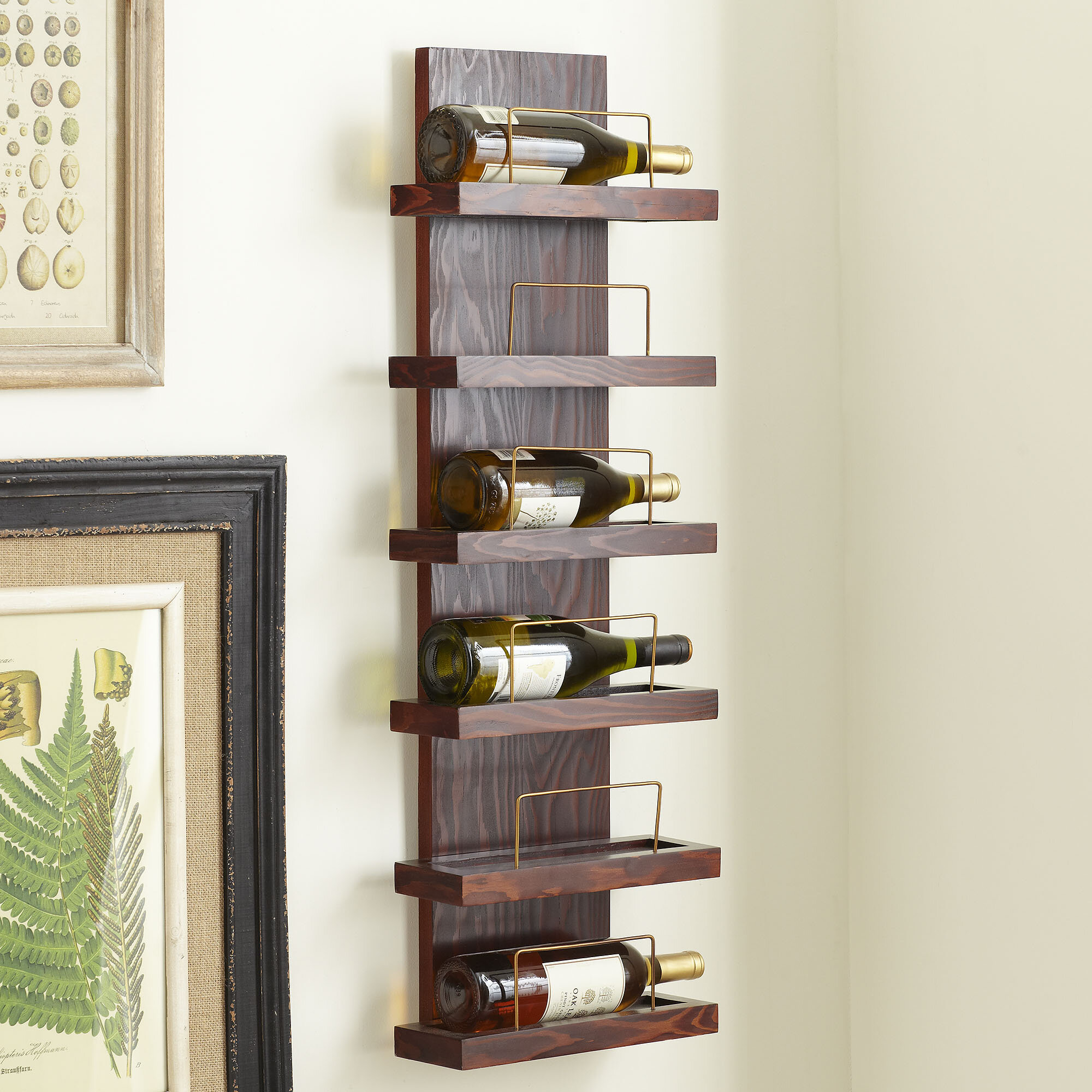 racks simple wine uma rack mount your with iron wall decorative ironwork for home public