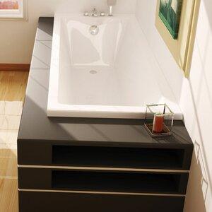 Super Strong Bath with Feet 170cm x 75cm Standard Soaking Bathtub