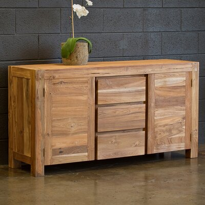 Aspen Buffet Wildon Home® Finish: Unstained