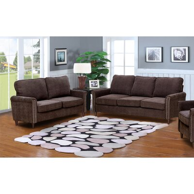 Hayton Fabric Modern 2 Piece Solid Living Room Set Chenille Sets You ll Love  Wayfair