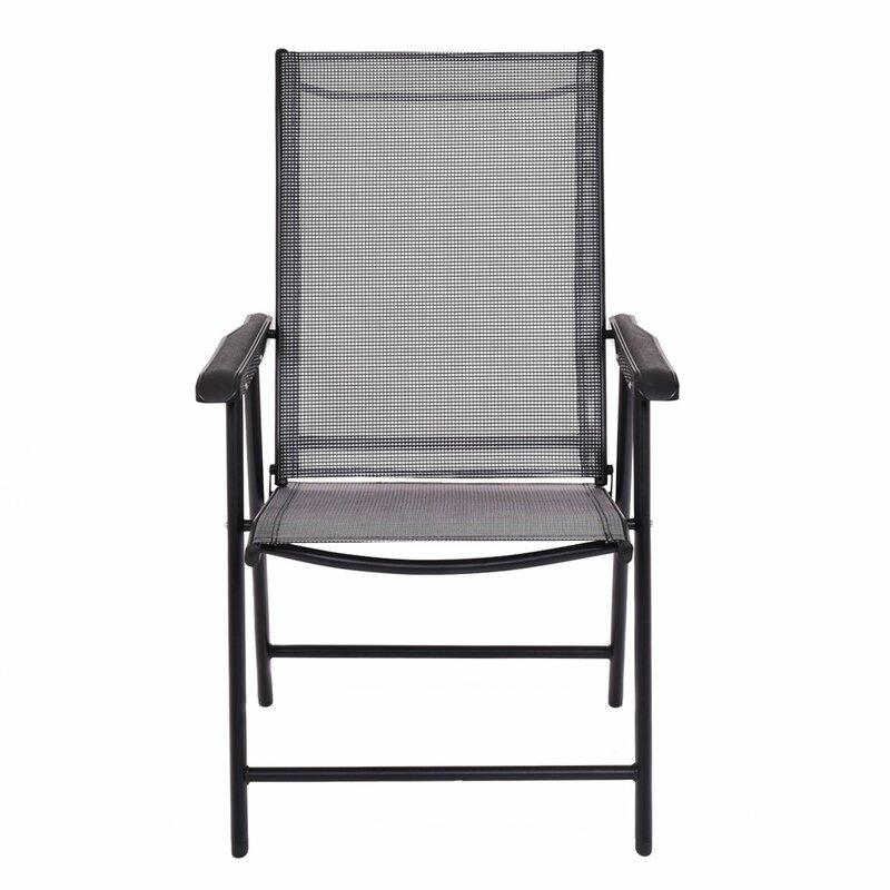 Camping Deck Garden Plastic Folding Chair