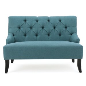 Scalia Settee by Varick Gallery