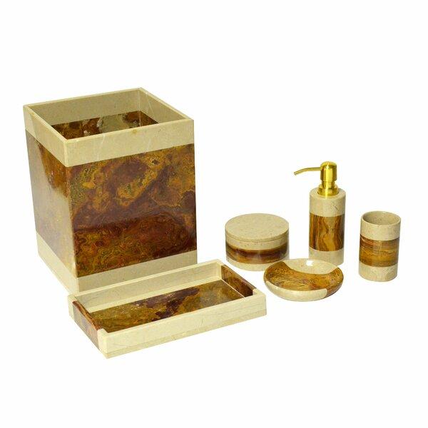 Rembrandt Home Polished Marble 7 Piece Bathroom Accessory Set Reviews Wayfair