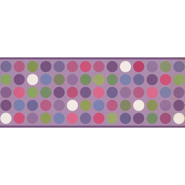 Brumfield Colorful Circles Abstract Design 15 L X 9 W Wallpaper Border
