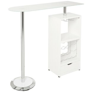 Ohalloran Metal Based Modern Pub Table
