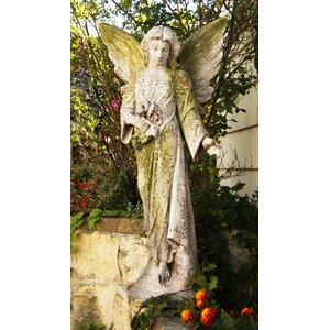 Angels Angel Flora Statue