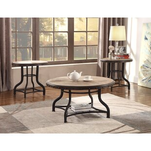 Beige & White Coffee Table Sets You\'ll Love | Wayfair