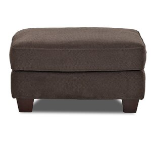 Emma Ottoman by Klaussner Furniture