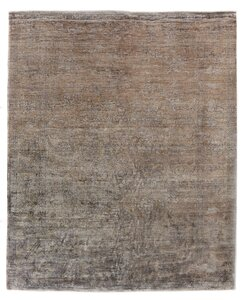 Antique Weave Hand-Knotted Camel Area Rug