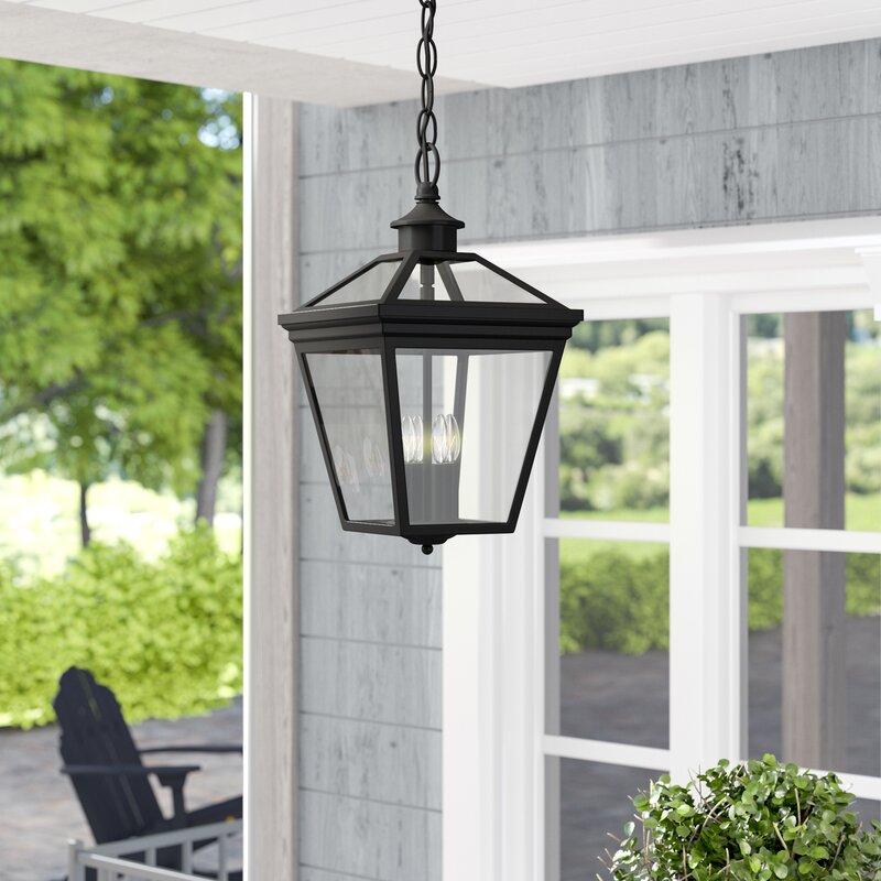 Wayfair Outdoor Hanging Lights: Darby Home Co Coleg 4-Light Outdoor Hanging Lantern
