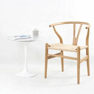 Byers Mid-Century Solid Wood Dining Chair (Set of 2)