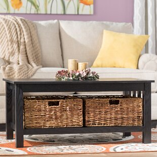 Black Lacquer Coffee Table | Wayfair