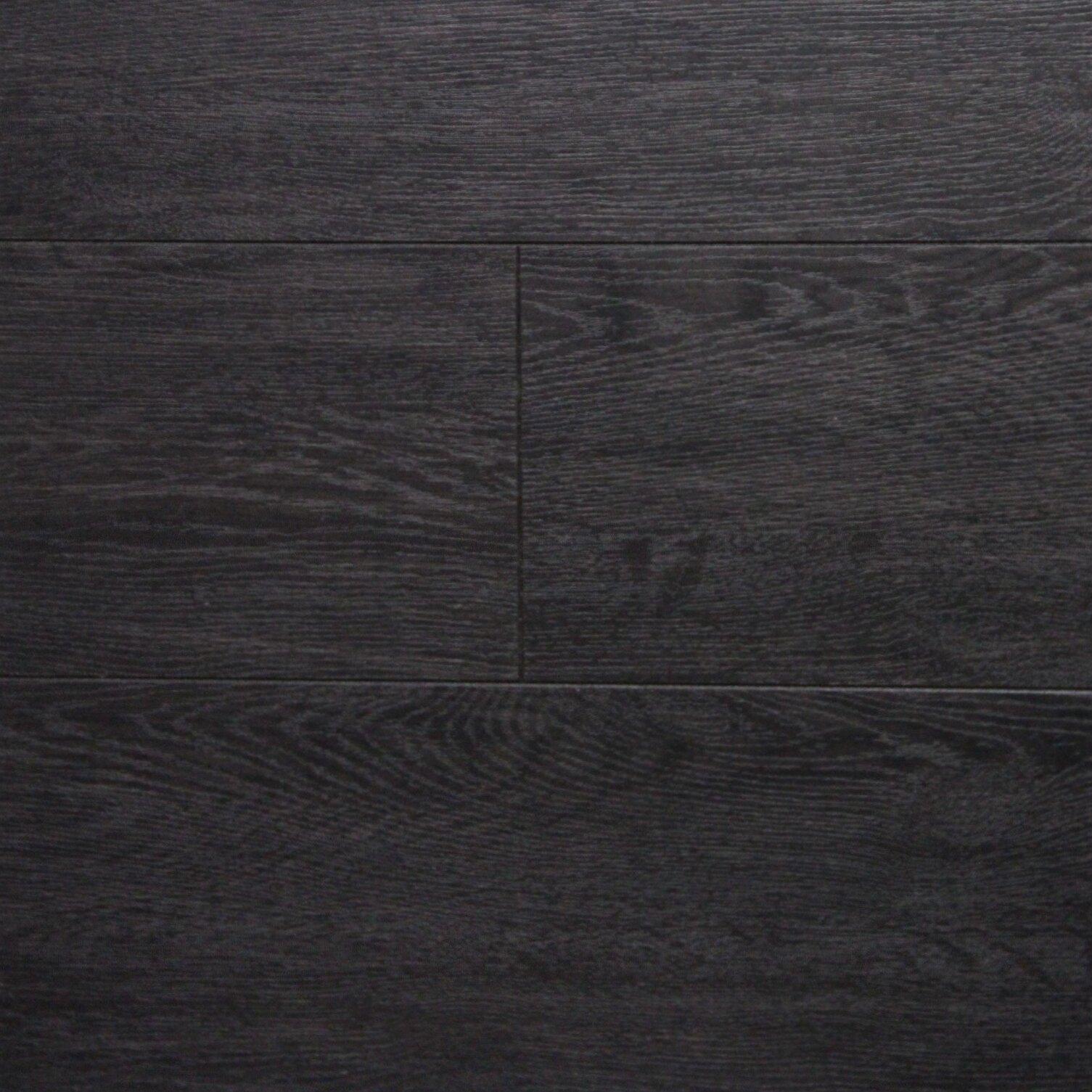 Serradon 6 X 48 12 3mm Laminate Flooring In Dark Wenge Reviews Wayfair
