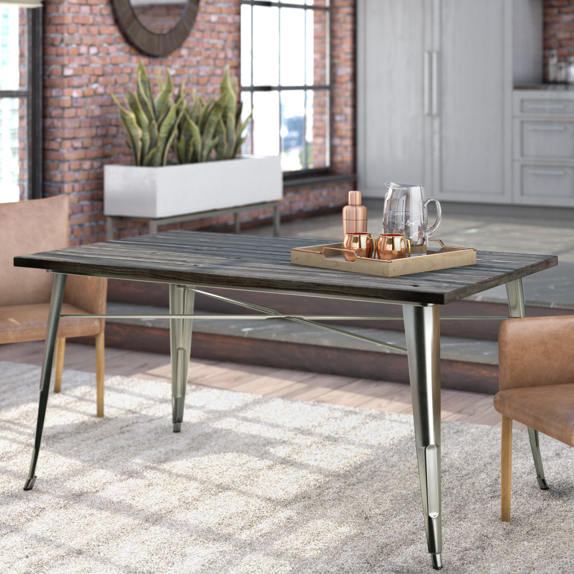 2eb541c3efbcf Trent Austin Design Fortuna Dining Table   Reviews