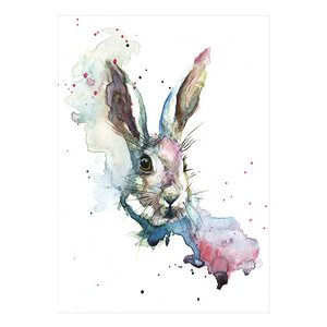 'March Hare' Painting Print