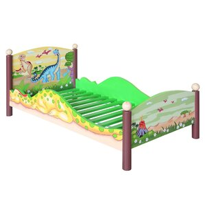 Dinosaur Kingdom Toddler Bed by Fantasy Fields