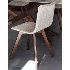 Flexa-LX Upholstered Dining Chair (Set of 2) by Domitalia
